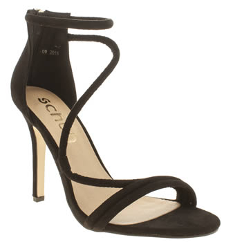 Womens Schuh Black Super Fly High Heels