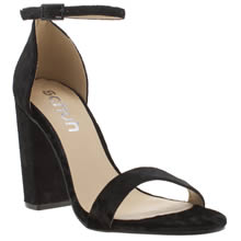 Schuh Black Encounter Womens High Heels