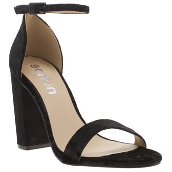 Womens Schuh Black Encounter High Heels