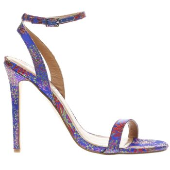 Schuh Blue MOST WANTED High Heels