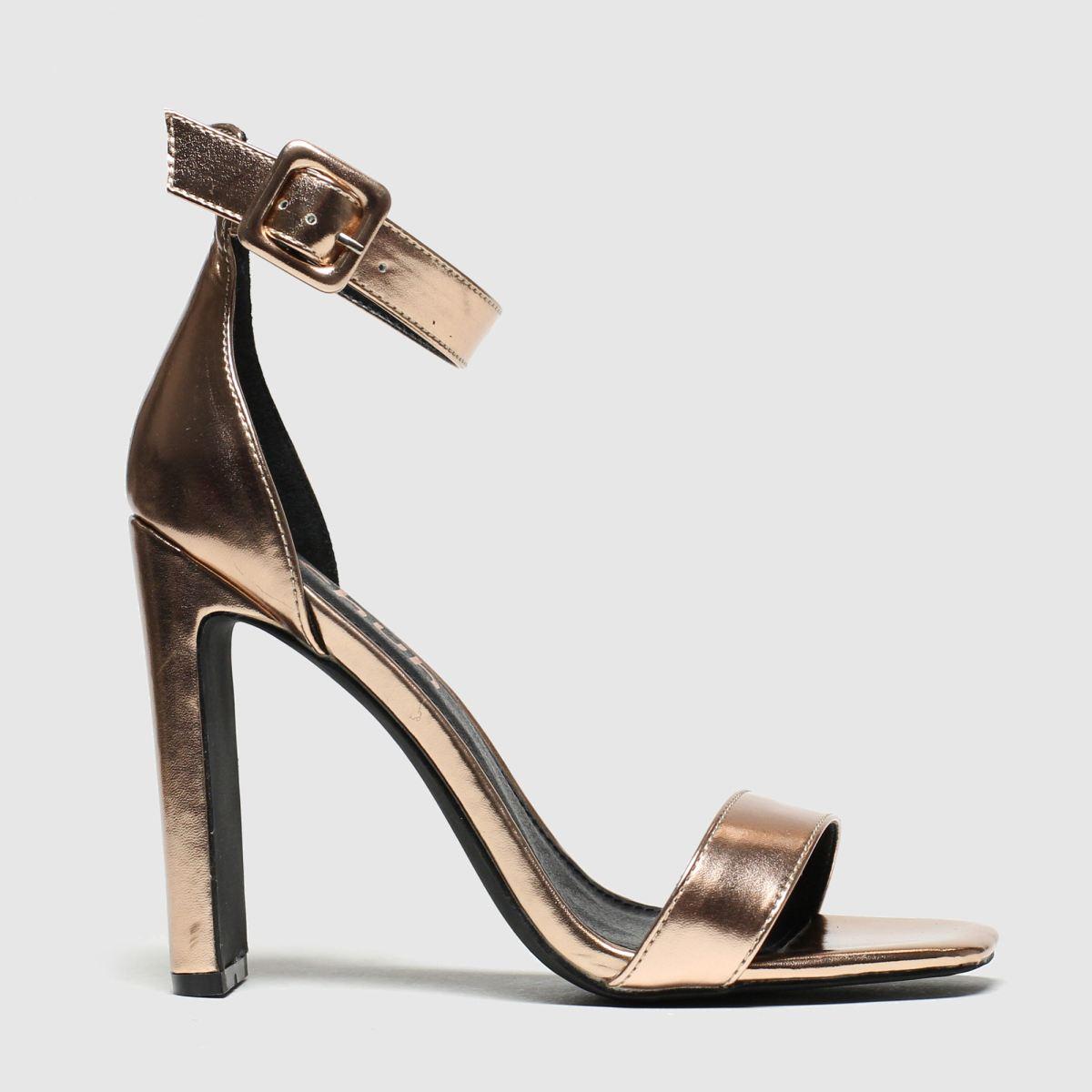 schuh Schuh Bronze Secret Crush High Heels