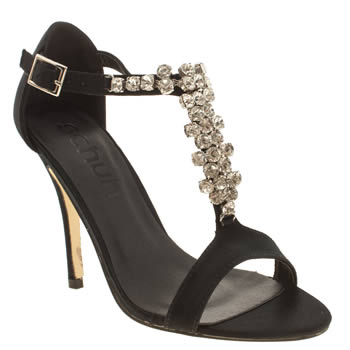 Womens Schuh Black Miley High Heels