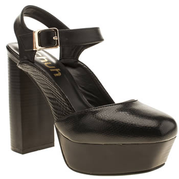 Womens Schuh Black Bang Bang High Heels