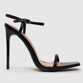 womens schuh black hotness high heels