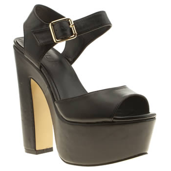 Womens Schuh Black Yes Way High Heels