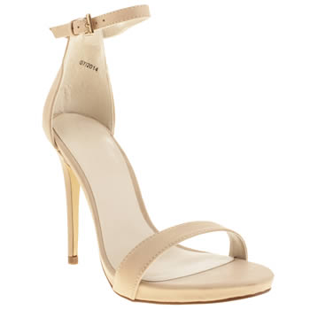 Schuh Natural Hot Date High Heels