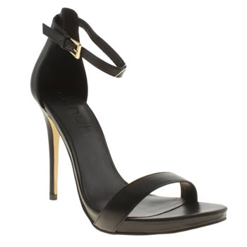 Schuh Black Hot Date High Heels