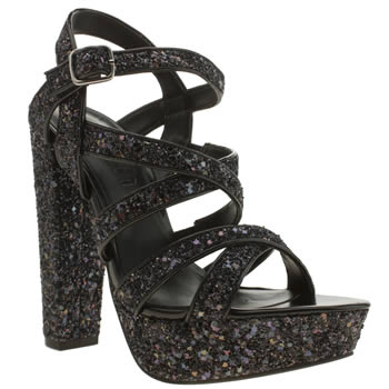 Womens Schuh Black Show Off High Heels