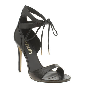 Womens Schuh Black Drama Queen High Heels