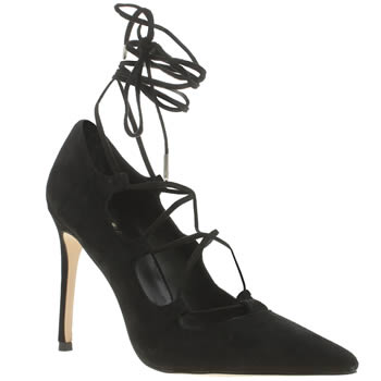 Womens Schuh Black Messy High Heels