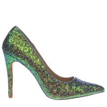 Schuh Green Queen Bee Womens High Heels