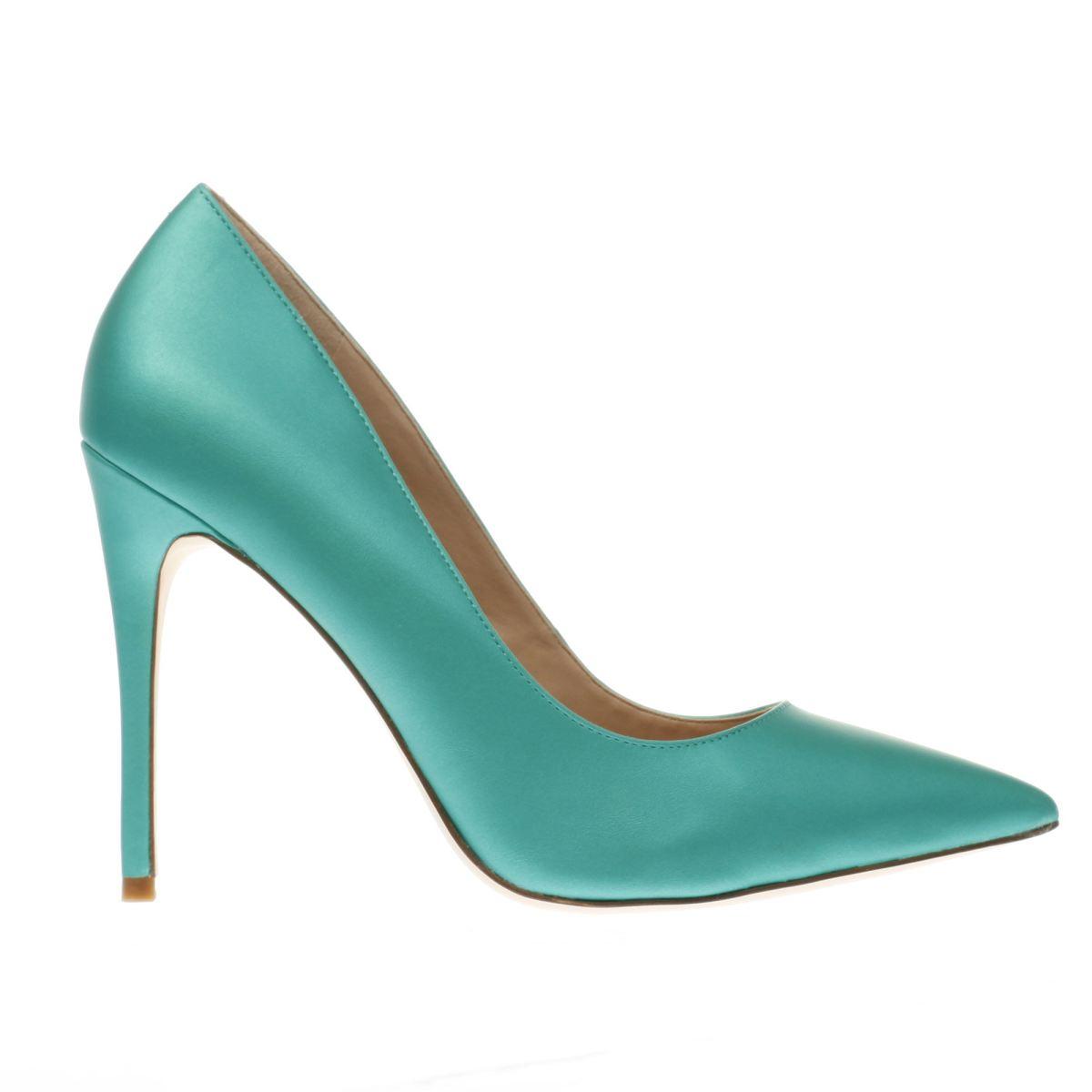 schuh green flirty high heels