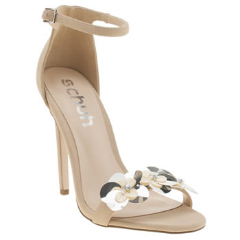 SCHUH NATURAL AMOUR HIGH HEELS