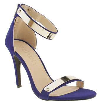 Womens Schuh Blue Grind My Gears High Heels