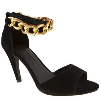 womens schuh black twerk it out high heels