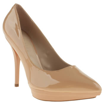 womens schuh natural sherbet high heels
