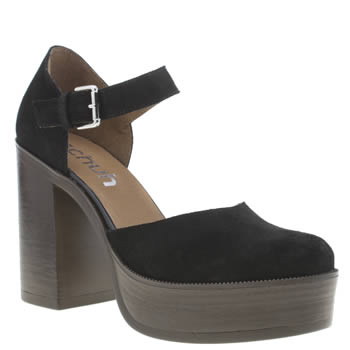 Schuh Black Attitude Womens High Heels