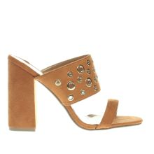 Schuh Tan Florida Womens High Heels