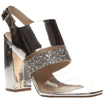 Schuh Silver Too Cute Womens High Heels