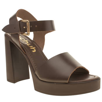Schuh Dark Brown Cover Story High Heels