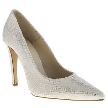 Womens Schuh White Lucky High Heels