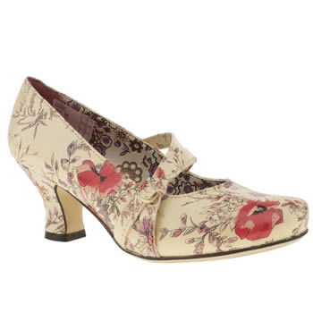 womens hush puppies multi lucindia floral high heels