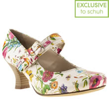 Multi Hush Puppies Philippa Bow Floral
