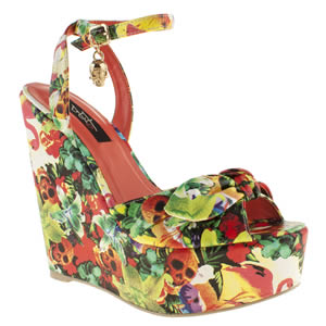 Iron Fist Multi Hellwaiin Holiday Wedge High Heels