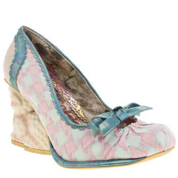 Irregular Choice Pale Pink Baah Baah High Heels