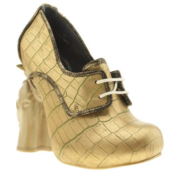 Irregular Choice Gold Star Wars Yoda High Heels