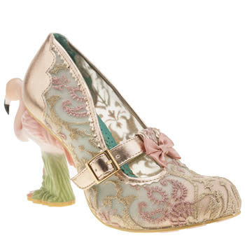 Irregular Choice Pale Pink Flamenco High Heels