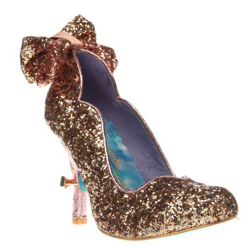 Irregular Choice Gold Cinderella Gracious Dreamer Womens High Heels
