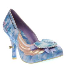 Irregular Choice Blue Cinderella Faith In Dreams Womens High Heels