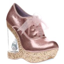 Irregular Choice Pale Pink Cinderella Home Before 12 High Heels
