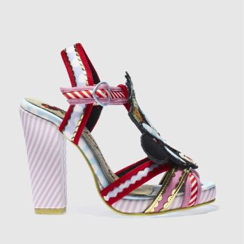 Irregular Choice Pink & Red X DISNEY TROPICAL MINNIE High Heels