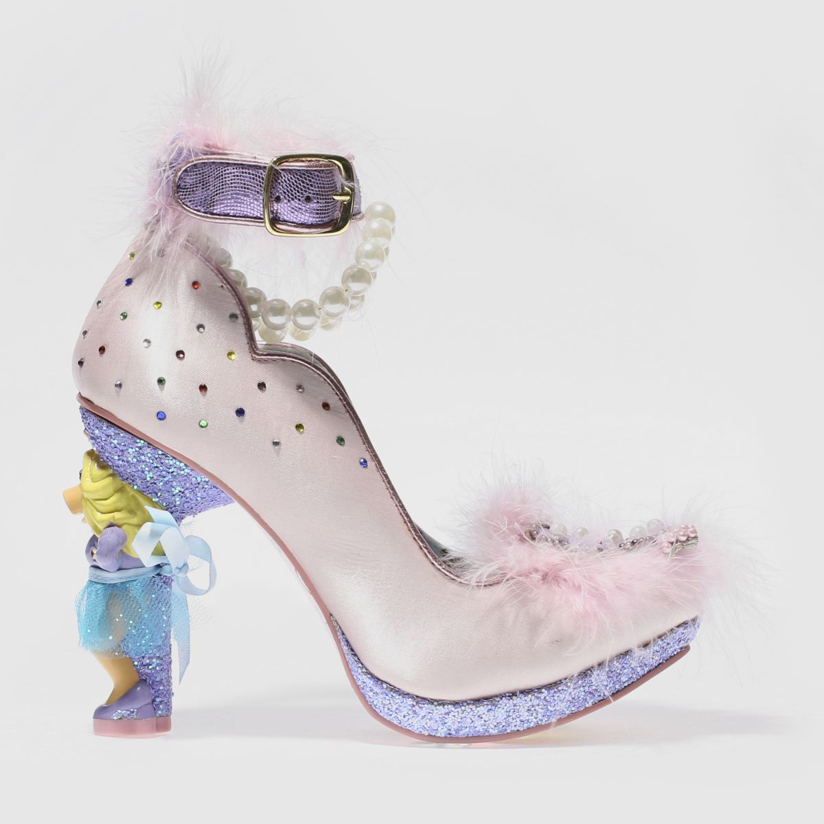 irregular choice pale pink disney muppets all about moi high heels