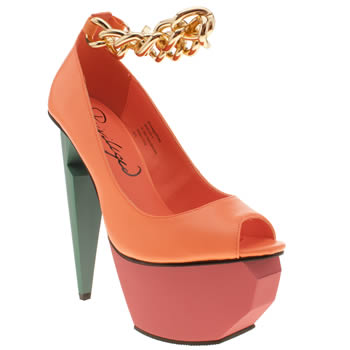 Womens Privileged Multi Mercer High Heels