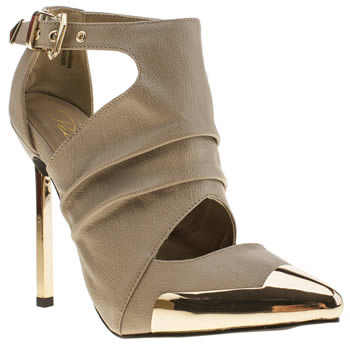womens privileged beige wagner high heels