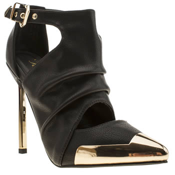 Privileged Black Wagner High Heels