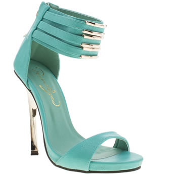 Privileged Turquoise Maddie High Heels