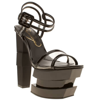 Womens Privileged Black Fia High Heels
