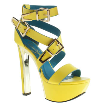 womens privileged yellow patron high heels