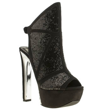 Womens Privileged Black Reverb High Heels