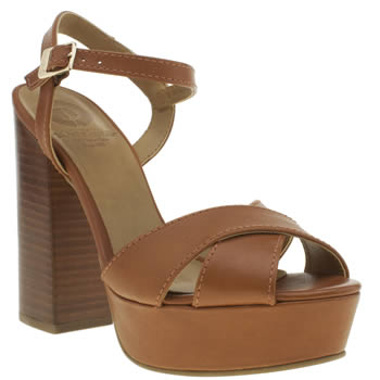 Red Or Dead Tan Wisconsin High Heels