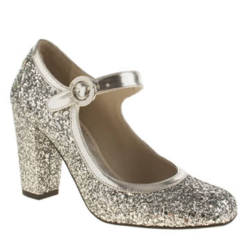Red Or Dead Silver Wilma Waltz High Heels