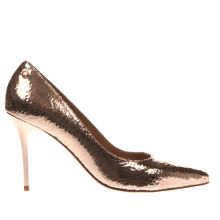 Red Or Dead Rose Gold Rod Raquel Womens High Heels