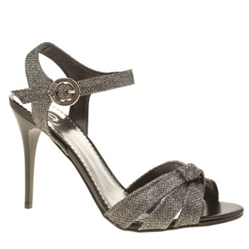 Red Or Dead Charcoal Grey Debbie Disco High Heels