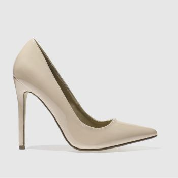 Womens Missguided Natural Point Toe High Heels