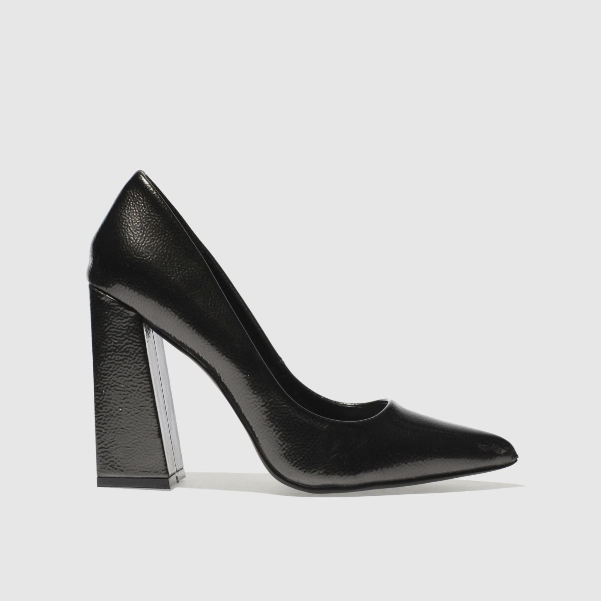 missguided Missguided Grey Flared Point Heel High Heels