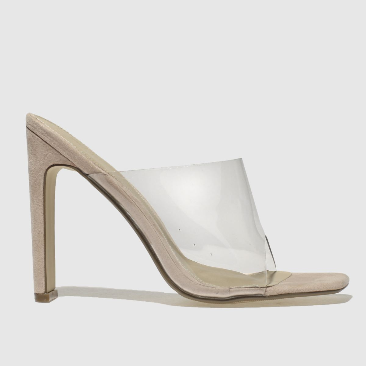 Missguided Natural Illusion Heel High Heels